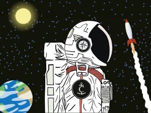 the captains log astronaut
